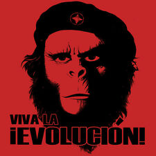 Planet of the Apes Evolucion T-shirt retro vintage sci-fi 70s movie Che original