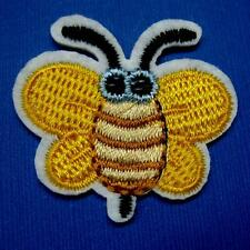 Bee Insect Iron on Sew Patch Applique Badge Embroidered Biker Applique Cute Baby
