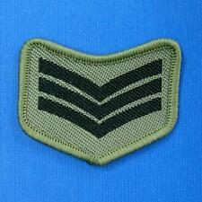 1 Army Police Airforce Rank Sew on Embroidered Cloth Patch Badge Applique Biker