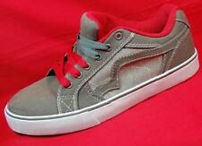 NEW Boy's Youth TONY HAWK CHIEF Gray/Red Canvas Fashion Skate  Athletic Shoes