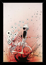 Ralph Steadman Hunter Driving 24x36 with choice of Frame, Woodmount, or Rolled