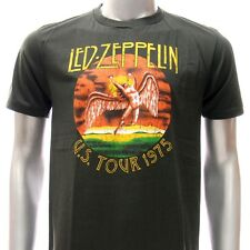 ASIA SIZE Sz S M L XL Led Zepplin T-shirt Song Remains Rock Band Music Many Size