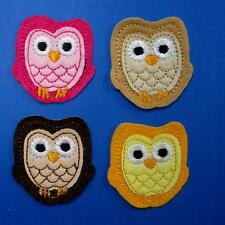Owl Bird Night Animal Iron on Sew Patch Applique Badge Embroidered Cute Baby Kid