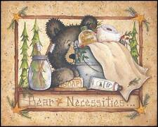 Art Print, Framed or Plaque by Mary Ann June - Bear Necessities - MARY238