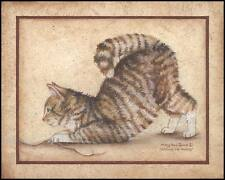 """ART PRINT, FRAMED OR PLAQUE """"STRING ME ALONG""""  BY MARY ANN JUNE - MARY271"""