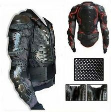 Motorcycle Full Body Armor Jacket Spine Chest Protection Gear M L XL 2XL 3XL