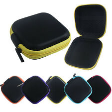 Latest Zipper Storage Bag Carrying Case for Hard Keep Earphones SD Card Area