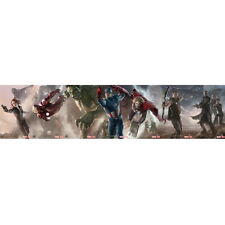 The Avengers Movie Poster Print Hulk Captain Thor Iron Man Home Bedroom Decor 24