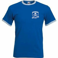 Bristol Rovers FC The Gas Retro Style Football Club Soccer T-Shirt - All Sizes