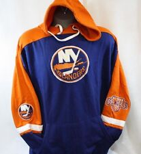 NEW Mens Majestic New York Islanders Big & Tall Classic Hockey Pullover Hoodie