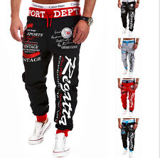 New Men's Training Joggers Sweat Pants Gym Sports Fitness Casual Trousers M-XXL