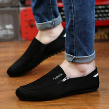 New Fashion Men's Flats Moccasin Loafer Casual Driving Suede Slip On Shoes