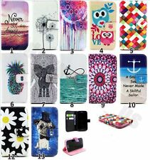 Fashion Lovely Wallet Stand Soft PU Leather Cover Cute Case For Iphone 5 5S SE