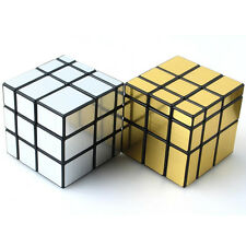 3x3x3 Mirror Profiled Magic Cube Puzzle Educational ABS Speed Toys Rubik
