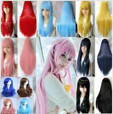 Women Long Full Wig Anime Cosplay Vogue Party Hair Wigs Healthy Natural Wigs New