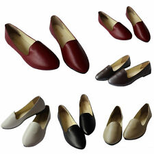 Brand New Women's Casual Faux Leather Pointed Toe Flats Sandals Loafers Shoe