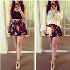 Sexy Women TWO PIECE Set Bandage Bodycon Crop Top Mini Dress Skirt Summer Party