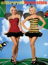 Buggin Out - Reversible Lady Bug Bumble Bee Costume XSmall Med fnt