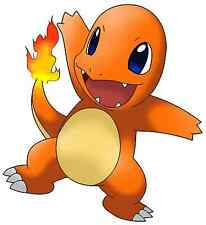 "2.5-5"" POKEMON CHARMANDER  ANIME  HEAT TRANSFER IRON ON CHARACTER"