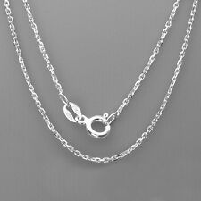 """925 Sterling Silver Cable chain Necklace for pendant 16"""", 18"""",20"""", 22"""" and 24"""""""