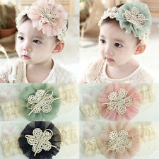 Baby Girls Toddler Infant Flower Headwear Accessories Headband Elastic Hair Band