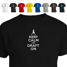 Keep Calm And Draft On Fantasy Soccer Scores Usa Gift Parody T Shirt 011
