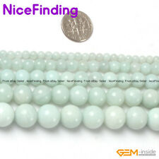 Wholesale Beads Round Amazonite Natural Stone Beads For Jewelry Making 2mm-18mm