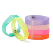 New 6x L/S Replacement Wrist Band Wristband with Clasps For Fitbit Flex Bracelet
