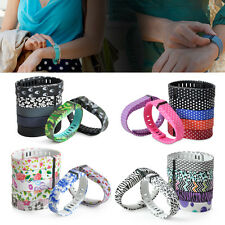 7x L/S Cool Replacement Wrist Band Wristband with Clasp For Fitbit Flex Bracelet