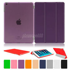 Magnetic Leather Smart Stand Cover Back Case For Apple iPad 2 3 4 5 6 Mini 1 2 3