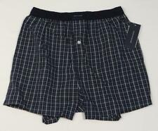 Tommy Hilfiger Green & Blue Plaid Cotton Boxer Shorts Underwear Mens NWT
