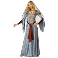 Renaissance Costumes Maid Marian Guinevere Medieval Princess Maiden Fancy Dress
