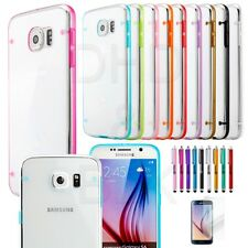 Fpr Samsung Galaxy S6 / S5 Case Slim Transparent Crystal Clear Hard TPU Cover