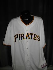 MLB Pittsburgh Pirates Authentic On-Field Home White Jersey Shirt  Chest Size