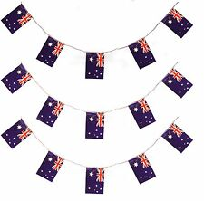 AUSTRALIAN BUNTING 200FT COUNTRY NATIONAL FLAG PARTY DECORATION PVC 60 M