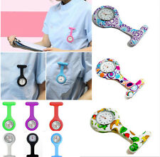 New Fashion Silicone Nurse Watches Brooch Tunic Fob Hang Watch