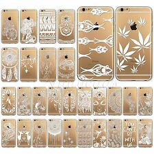 Ultra Slim Soft Clear Animal Printed Case Cover For iPhone 4 4S 5 5S 5C 6 6Plus