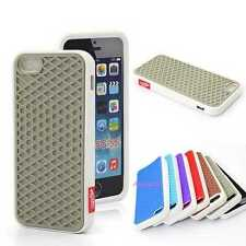 New Style Vans Colorful Design Silicon Rubber Back Case Cover For iPhone 4 5 6