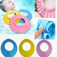 Useful Baby Kids Shampoo Bath Bathing Shower Cap Hat Wash Hair Shield