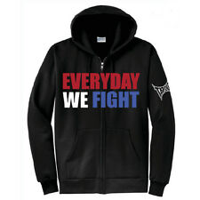 Tapout Everyday We Fight Zip Up Hoodie - Black