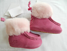 Ugg I Gage baby shoes size XS 0-6 months Rose girls 1003098 INF infant