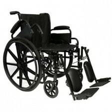 "ProBasics - Invacare  18"" Lightweight Wheelchair, Flip Back Arm-Choose Footrest"
