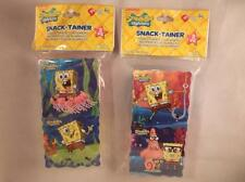 SpongeBob Squarepants Snack-Tainer Food & Snack Storage Containers CHOICE of 1pk