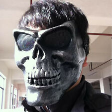 Skull Skeleton Full Face Hunting Tactical Military Masque Costume Halloween Mask