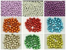 200 Mixed Color 3D Illusion Miracle Round beads 6mm Spacer Beads Pick Your Color