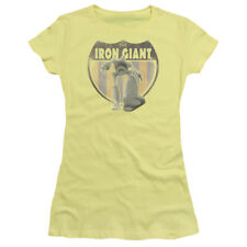 Officially Licensed Warner Bros The Iron Giant Movie Patch Junior Shirt S-XL