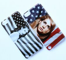 Lana Del Rey With American Flag Design Case For Samsung Galaxy iPhone Sony LG