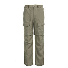 NWT Mens Quick Dry Outdoor Pants Men Casual Pants Removable Leg Cargo Trousers