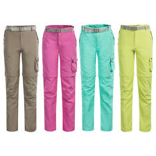 Womens Casual Sunscreen Quick Dry Pants Hiking Sports Trousers Multi Color S-XXL