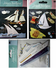 NEW CRUISE SHIP - BOATS - SAILBOAT * Your Choice * Boating JOLEE'S 3D Stickers